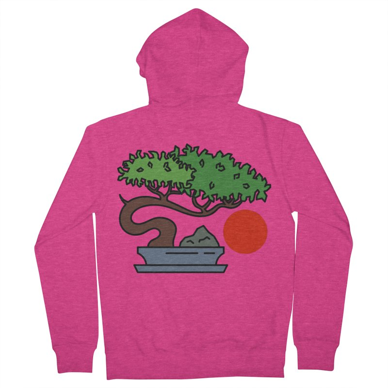 Bonsai Tree - #3 Women's French Terry Zip-Up Hoody by LadyBaigStudio's Artist Shop