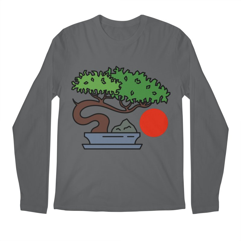 Bonsai Tree - #3 Men's Longsleeve T-Shirt by LadyBaigStudio's Artist Shop
