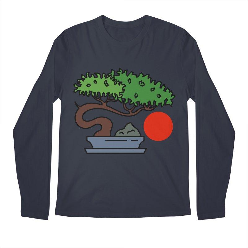 Bonsai Tree - #3 Men's Longsleeve T-Shirt by LadyBaigStudio's Artist Shop