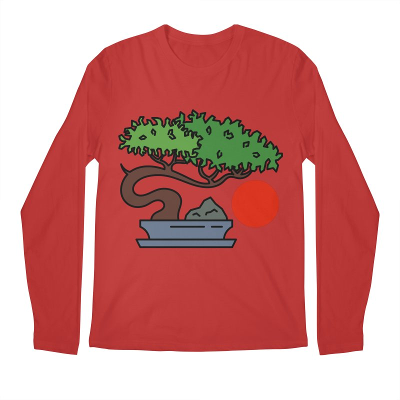 Bonsai Tree - #3 Men's Regular Longsleeve T-Shirt by LadyBaigStudio's Artist Shop