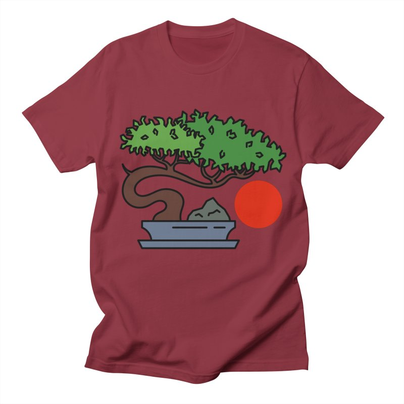 Bonsai Tree - #3 Men's Regular T-Shirt by LadyBaigStudio's Artist Shop