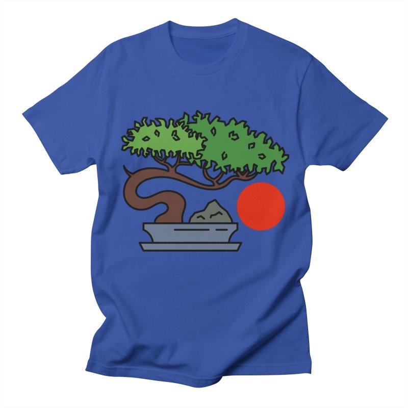 Bonsai Tree - #3 Men's Regular T-Shirt by LadyBaigStudio's Artist Shop