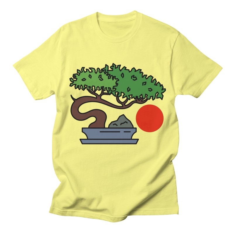 Bonsai Tree - #3 Women's Regular Unisex T-Shirt by LadyBaigStudio's Artist Shop