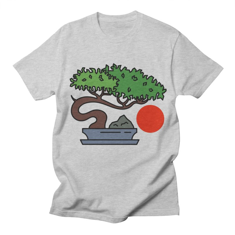 Bonsai Tree - #3 Men's T-Shirt by LadyBaigStudio's Artist Shop