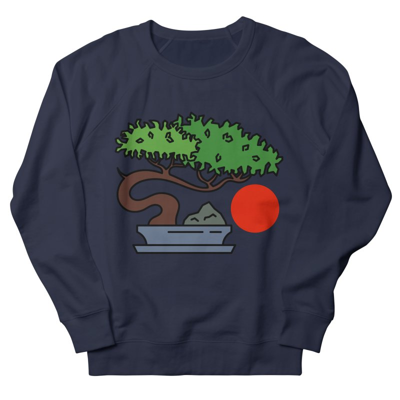 Bonsai Tree - #3 Women's French Terry Sweatshirt by LadyBaigStudio's Artist Shop