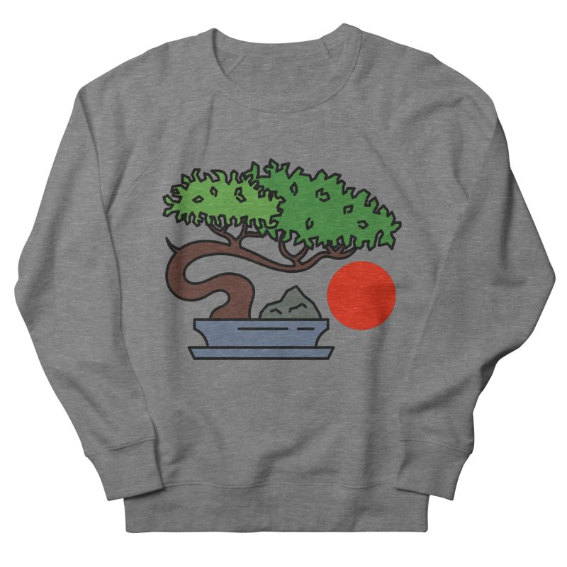 Bonsai Tree - #3 Men's French Terry Sweatshirt by LadyBaigStudio's Artist Shop