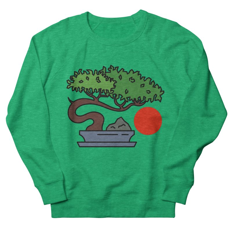 Bonsai Tree - #3 Men's French Terry Sweatshirt by LadyBaigStudio's Artist Shop
