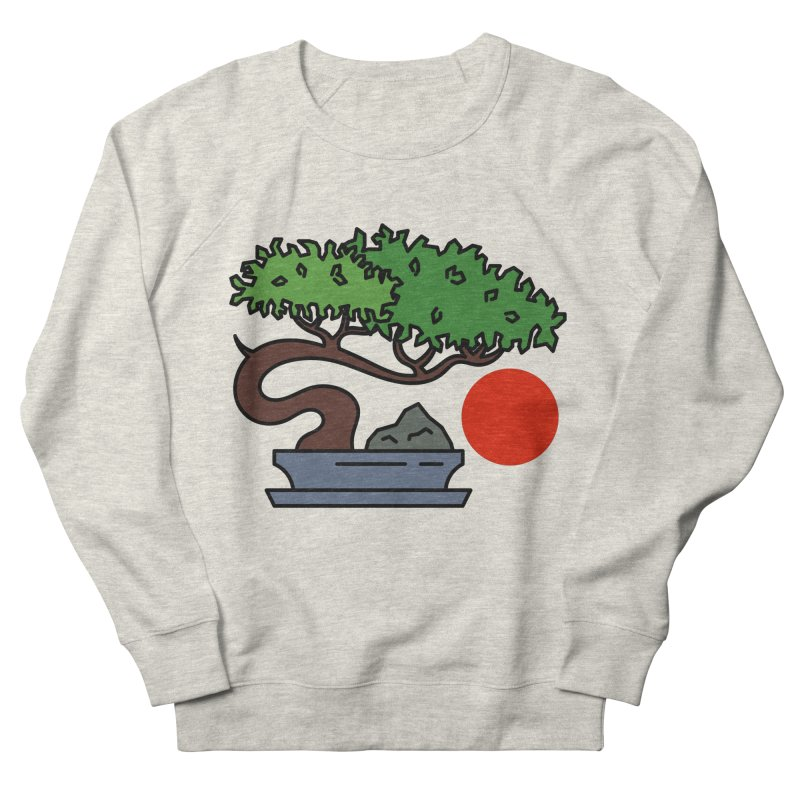 Bonsai Tree - #3 Men's Sweatshirt by LadyBaigStudio's Artist Shop