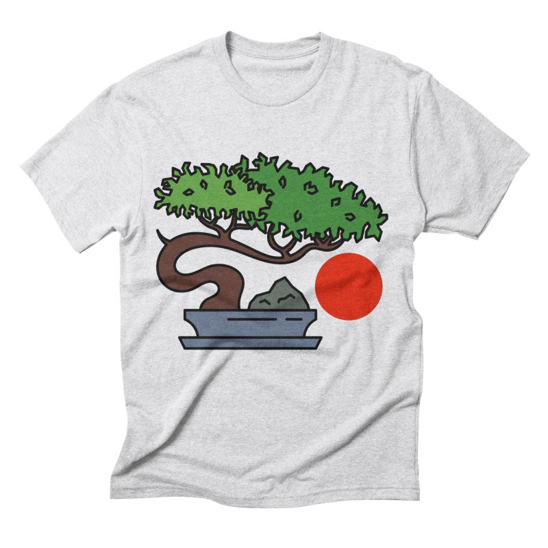 Bonsai Tree - #3 Men's Triblend T-Shirt by LadyBaigStudio's Artist Shop