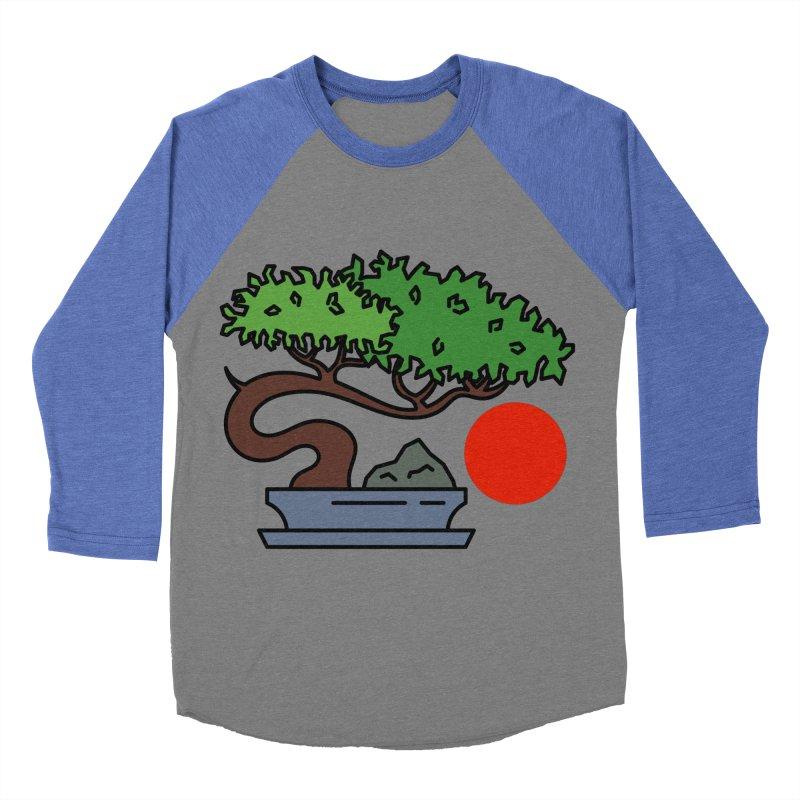 Bonsai Tree - #3 Women's Baseball Triblend Longsleeve T-Shirt by LadyBaigStudio's Artist Shop