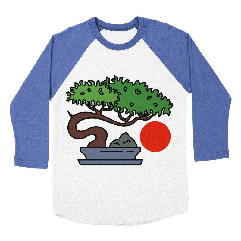 Bonsai Tree - #3 Men's Baseball Triblend Longsleeve T-Shirt by LadyBaigStudio's Artist Shop
