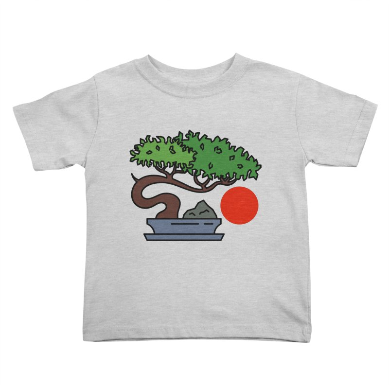 Bonsai Tree - #3 Kids Toddler T-Shirt by LadyBaigStudio's Artist Shop