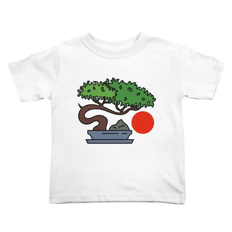 Bonsai Tree - #3 Kids Toddler T-Shirt by LadyBaigStudio's Artist Shop