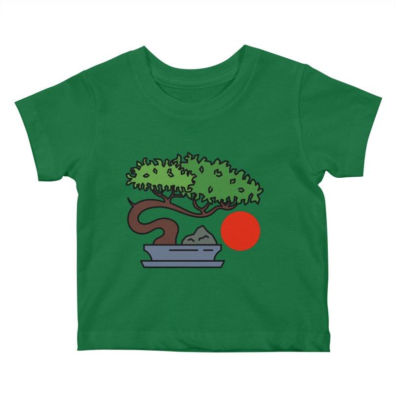 Bonsai Tree - #3 Kids Baby T-Shirt by LadyBaigStudio's Artist Shop