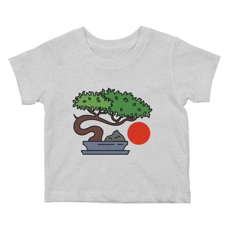 Bonsai Tree - #3 Kids Baby T-Shirt by LadyBaigStudio's Artist Shop