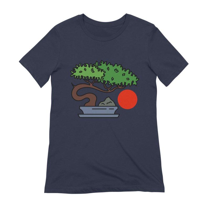 Bonsai Tree - #3 Women's T-Shirt by LadyBaigStudio's Artist Shop