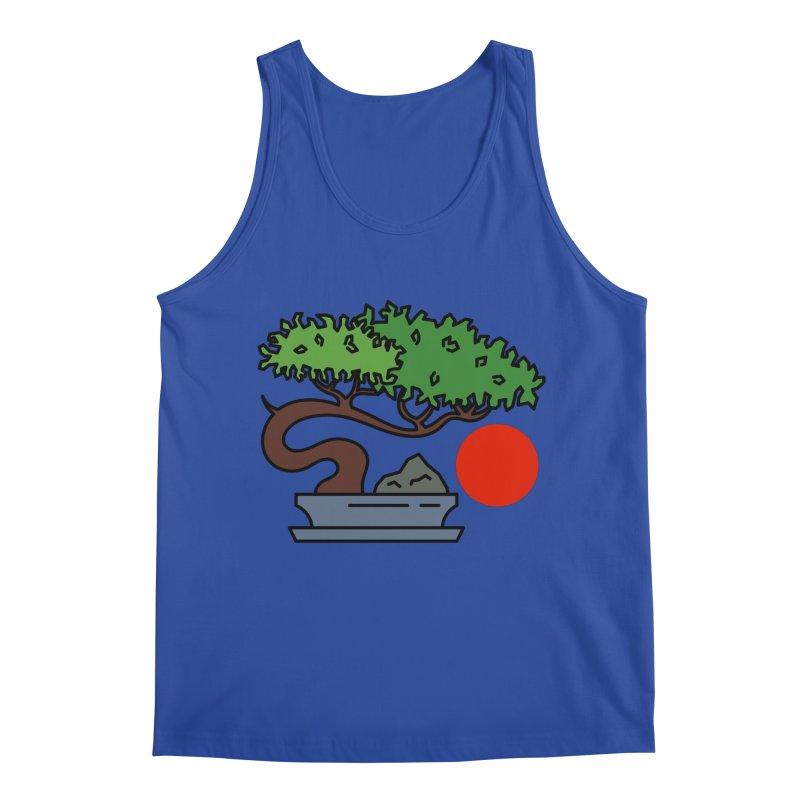 Bonsai Tree - #3 Men's Regular Tank by LadyBaigStudio's Artist Shop
