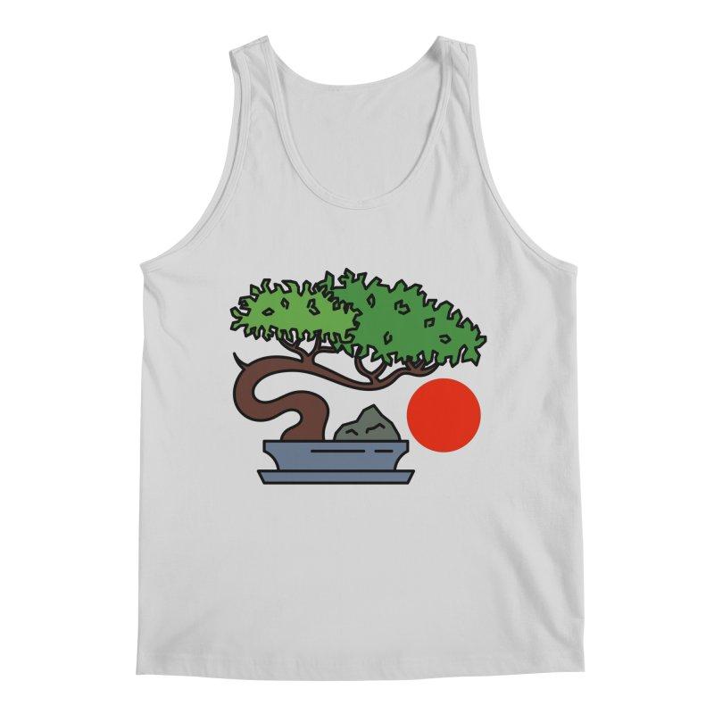 Bonsai Tree - #3 Men's Tank by LadyBaigStudio's Artist Shop