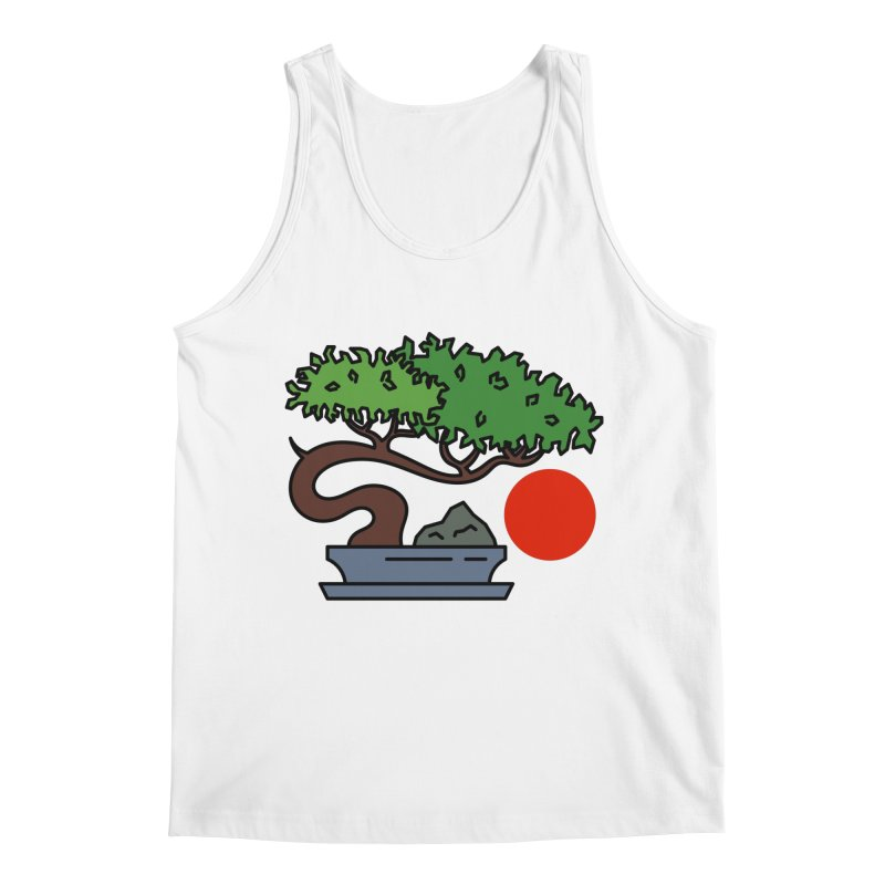 Bonsai Tree - #3 Men's Tank by LadyBaigStudio's Artist Shop