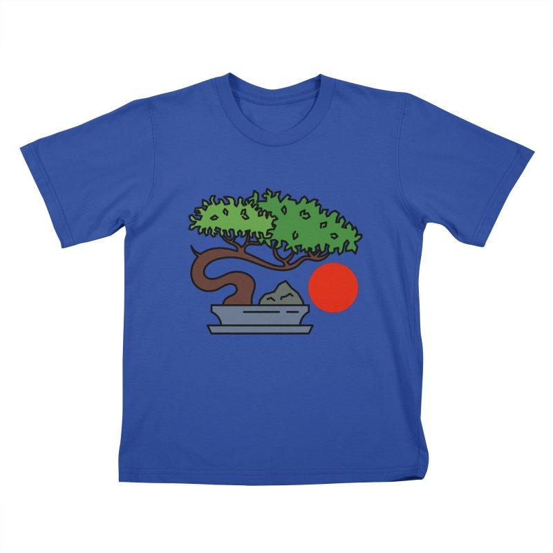 Bonsai Tree - #3 Kids T-Shirt by LadyBaigStudio's Artist Shop