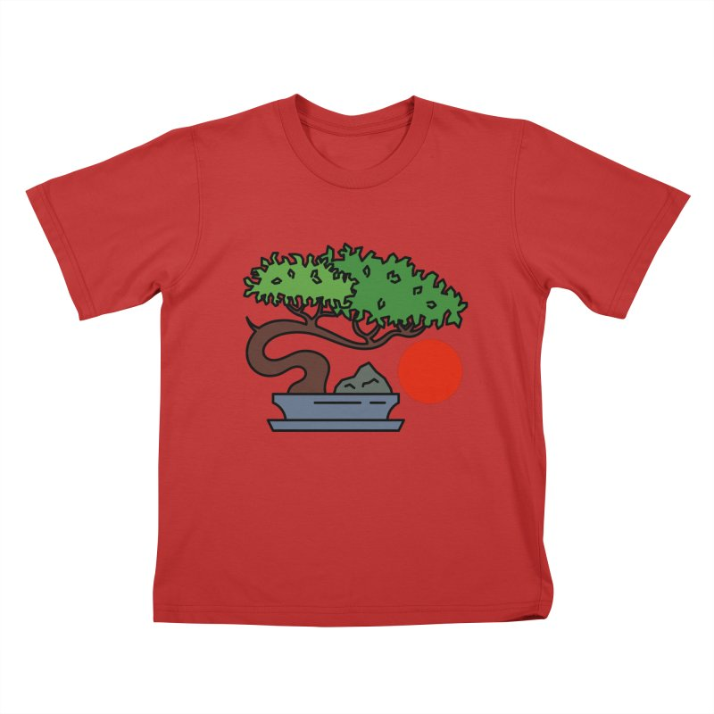Bonsai Tree - #3 Kids T-Shirt by LadyBaigStudio's Artist Shop