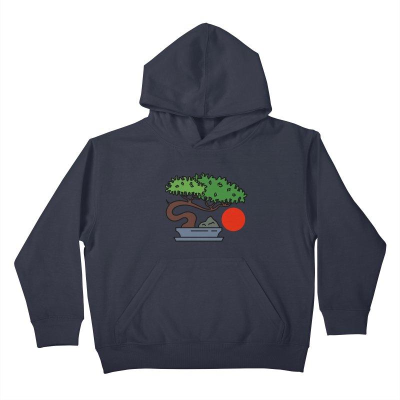 Bonsai Tree - #3 Kids Pullover Hoody by LadyBaigStudio's Artist Shop