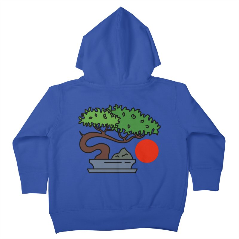 Bonsai Tree - #3 Kids Toddler Zip-Up Hoody by LadyBaigStudio's Artist Shop