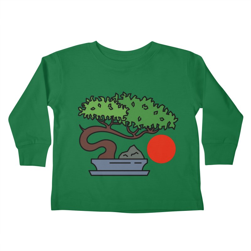 Bonsai Tree - #3 Kids Toddler Longsleeve T-Shirt by LadyBaigStudio's Artist Shop