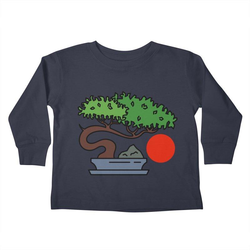 Bonsai Tree - #3 Kids Toddler Longsleeve T-Shirt by LadyBaigStudio's Artist Shop