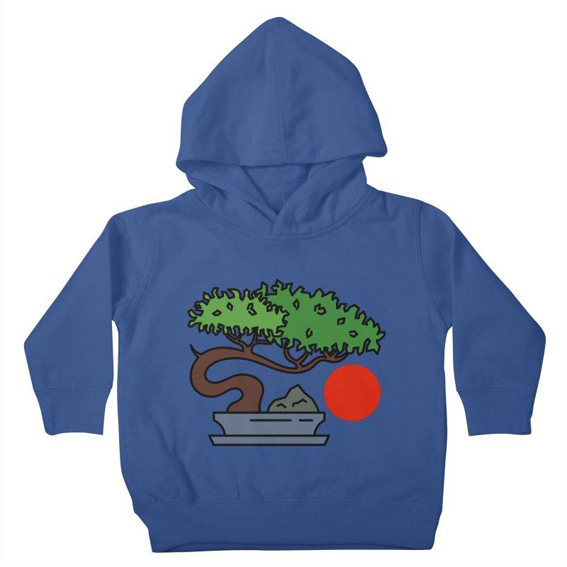 Bonsai Tree - #3 Kids Toddler Pullover Hoody by LadyBaigStudio's Artist Shop