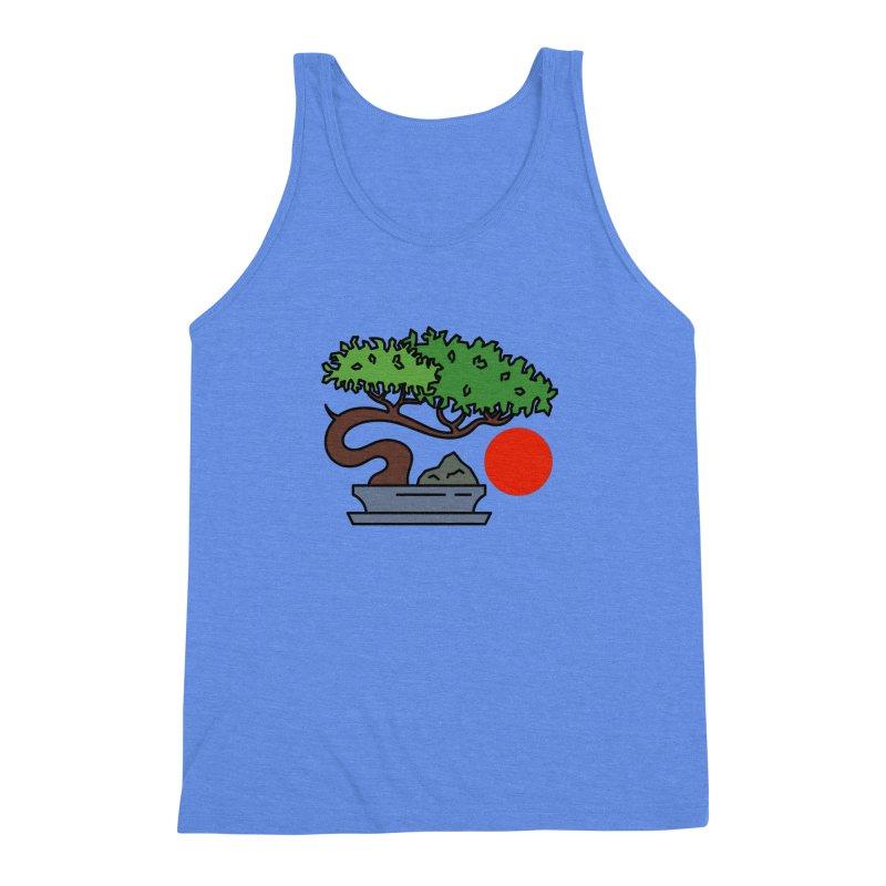 Bonsai Tree - #3 Men's Triblend Tank by LadyBaigStudio's Artist Shop