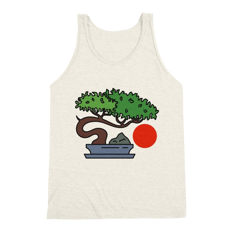 Bonsai Tree - #3 Men's Triblend Tank by LadyBaigStudio's Artist Shop