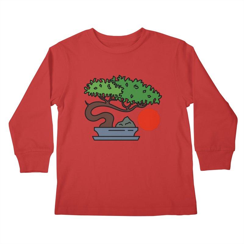 Bonsai Tree - #3 Kids Longsleeve T-Shirt by LadyBaigStudio's Artist Shop