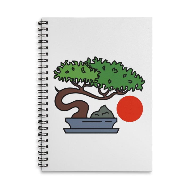 Bonsai Tree - #3 Accessories Notebook by LadyBaigStudio's Artist Shop