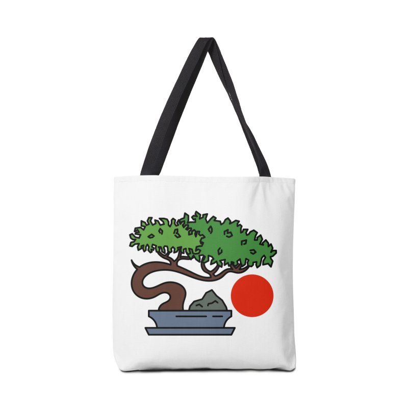 Bonsai Tree - #3 Accessories Tote Bag Bag by LadyBaigStudio's Artist Shop