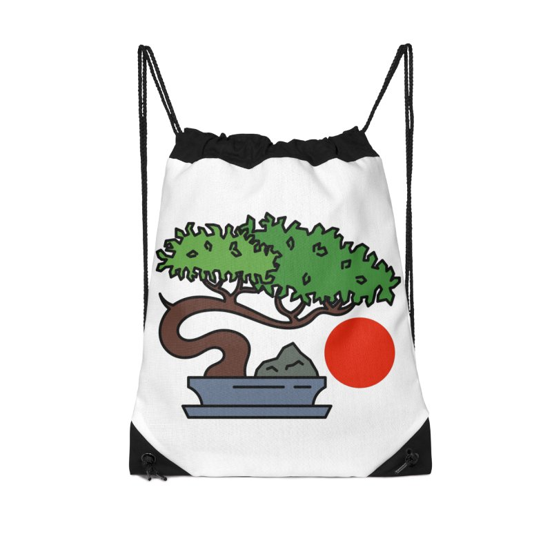 Bonsai Tree - #3 Accessories Bag by LadyBaigStudio's Artist Shop