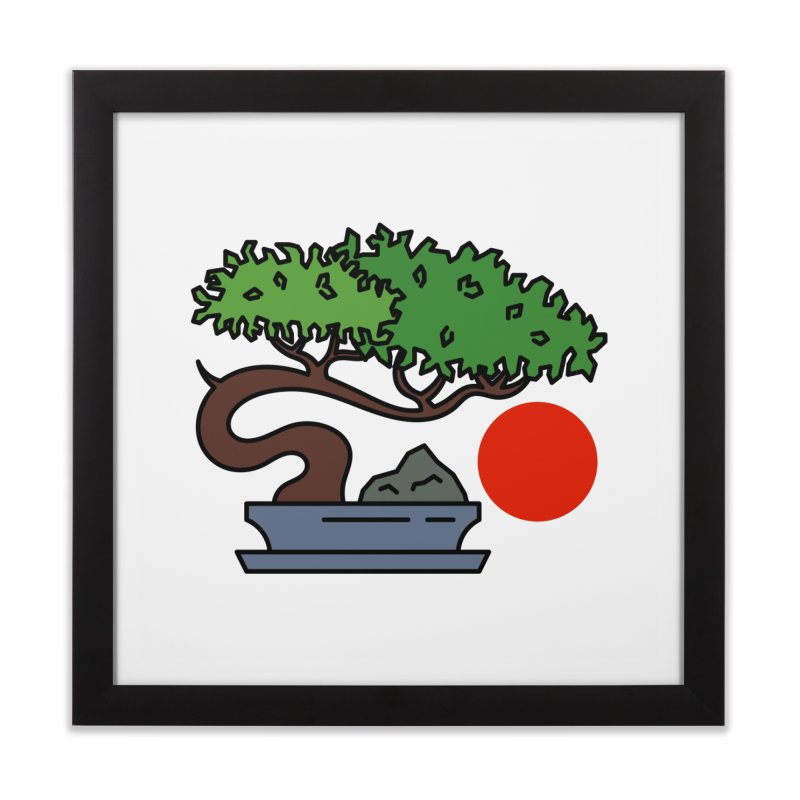 Bonsai Tree - #3 Home Framed Fine Art Print by LadyBaigStudio's Artist Shop