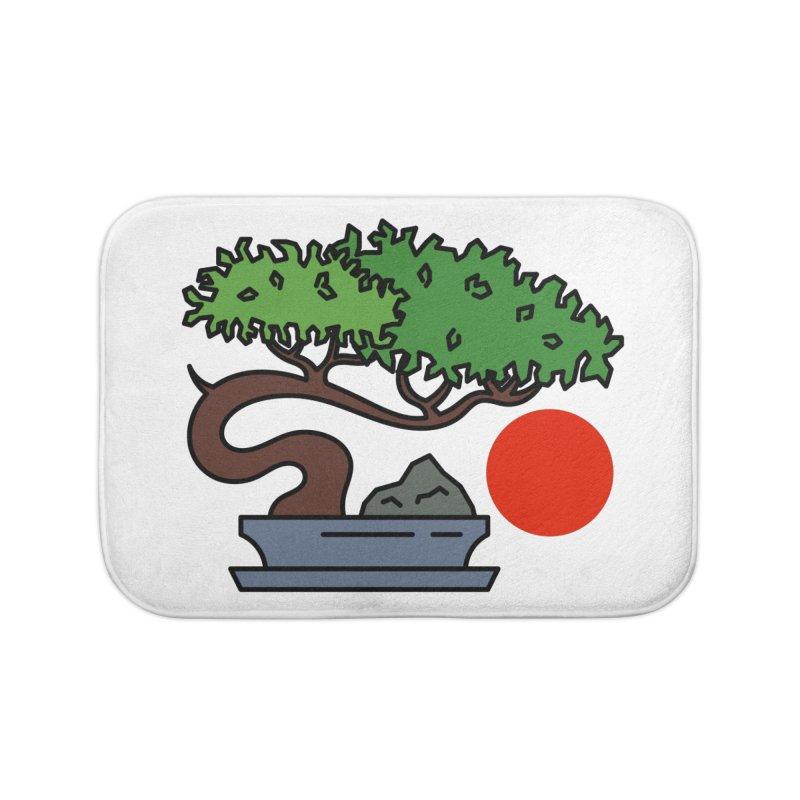Bonsai Tree - #3 Home Bath Mat by LadyBaigStudio's Artist Shop