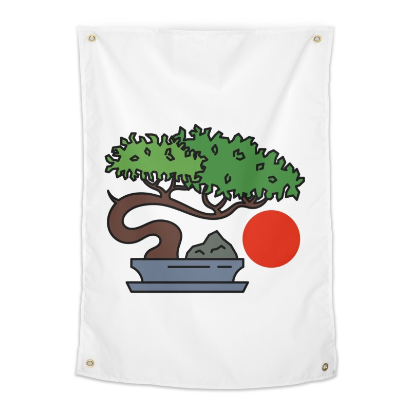Bonsai Tree - #3 Home Tapestry by LadyBaigStudio's Artist Shop