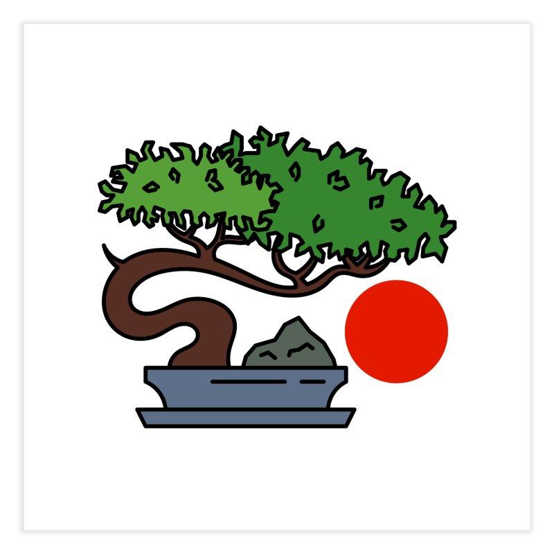 Bonsai Tree - #3 Home Fine Art Print by LadyBaigStudio's Artist Shop