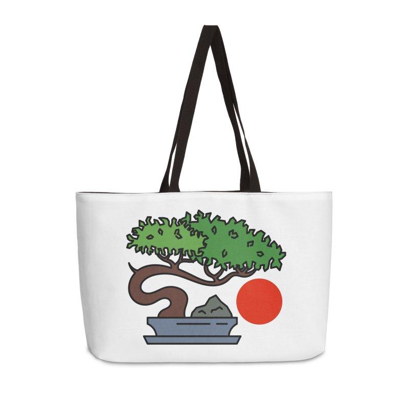 Bonsai Tree - #3 Accessories Weekender Bag Bag by LadyBaigStudio's Artist Shop