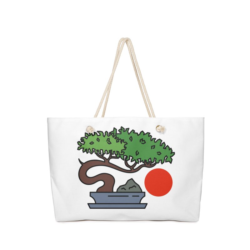Bonsai Tree - #3 Accessories Bag by LadyBaigStudio's Artist Shop