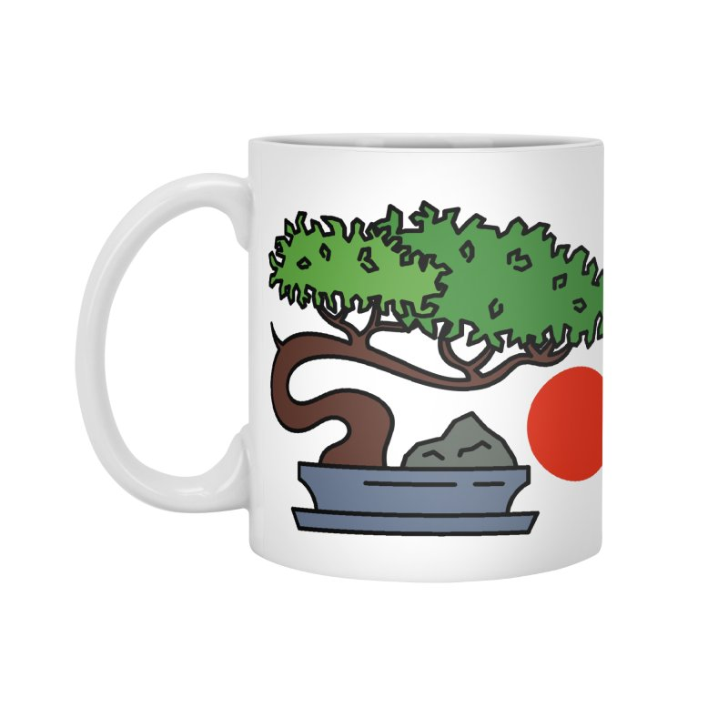 Bonsai Tree - #3 Accessories Mug by LadyBaigStudio's Artist Shop