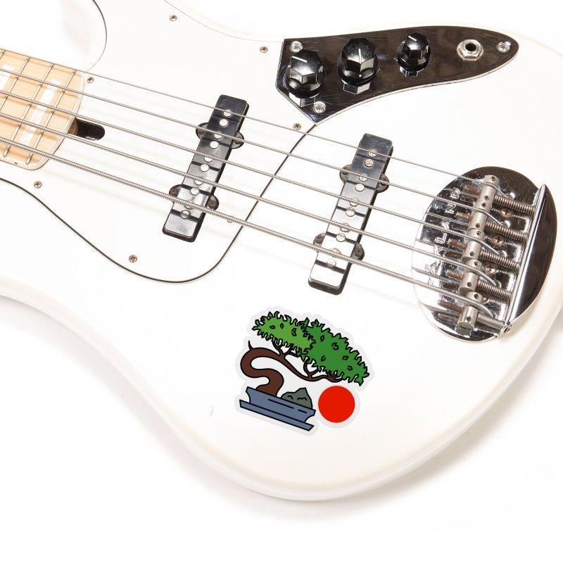 Bonsai Tree - #3 Accessories Sticker by LadyBaigStudio's Artist Shop
