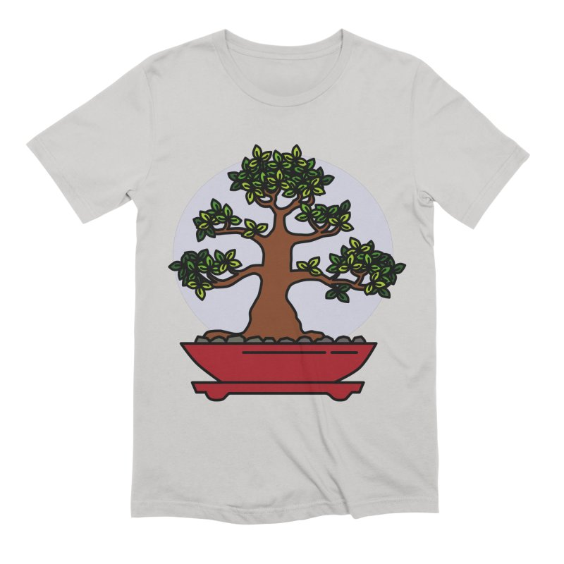 Bonsai Tree - #4 Men's Extra Soft T-Shirt by LadyBaigStudio's Artist Shop