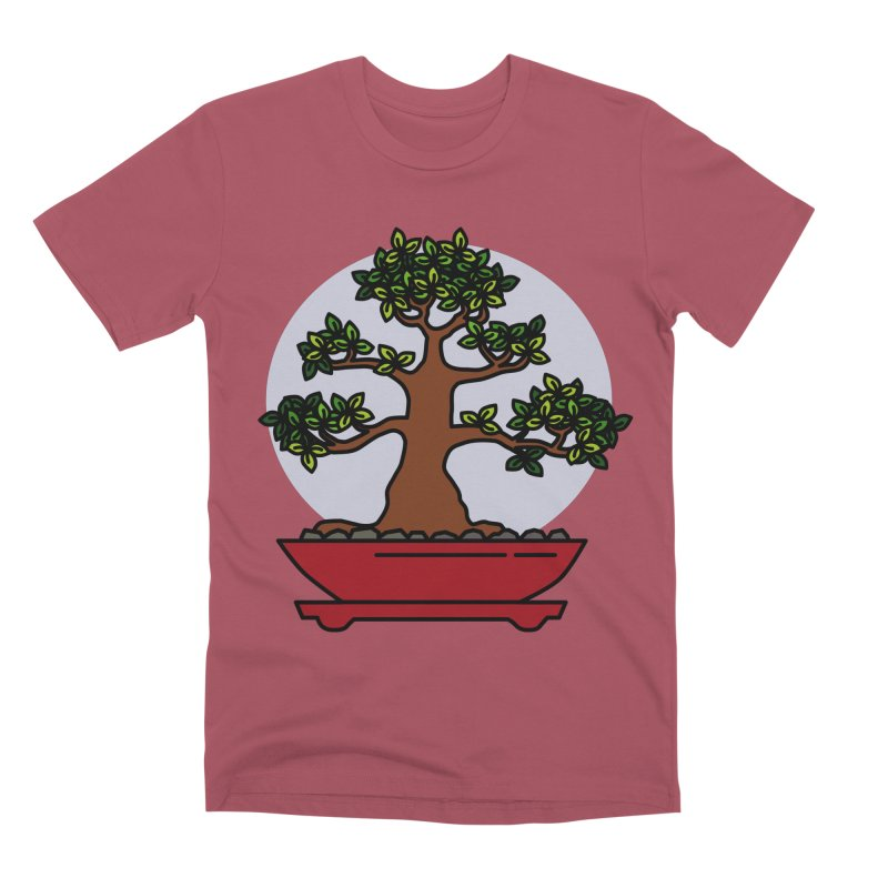 Bonsai Tree - #4 Men's Premium T-Shirt by LadyBaigStudio's Artist Shop