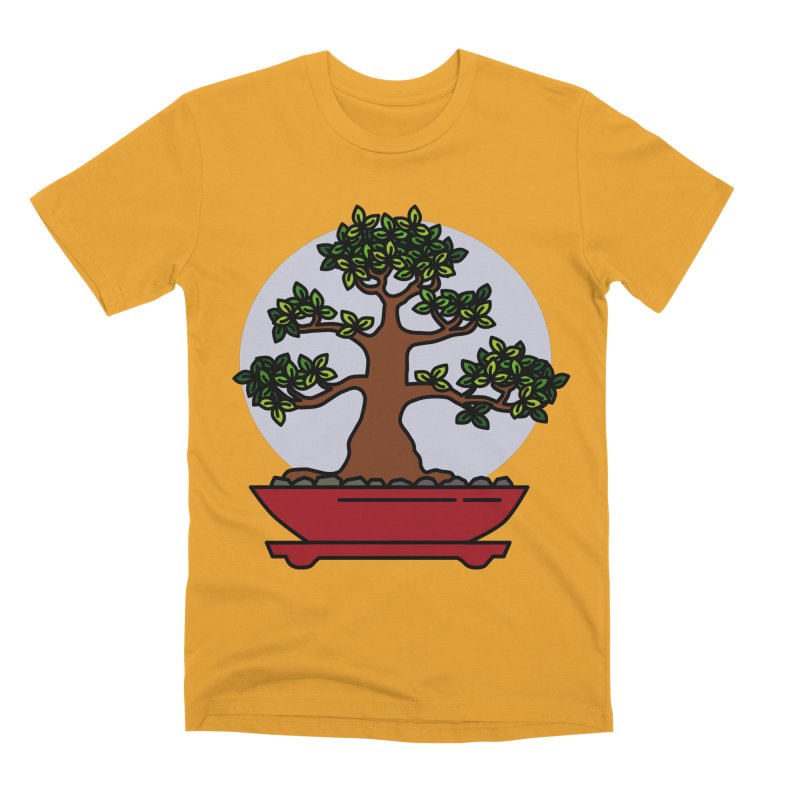Bonsai Tree - #4 Men's Premium T-Shirt by LadyBaigStudio's Artist Shop