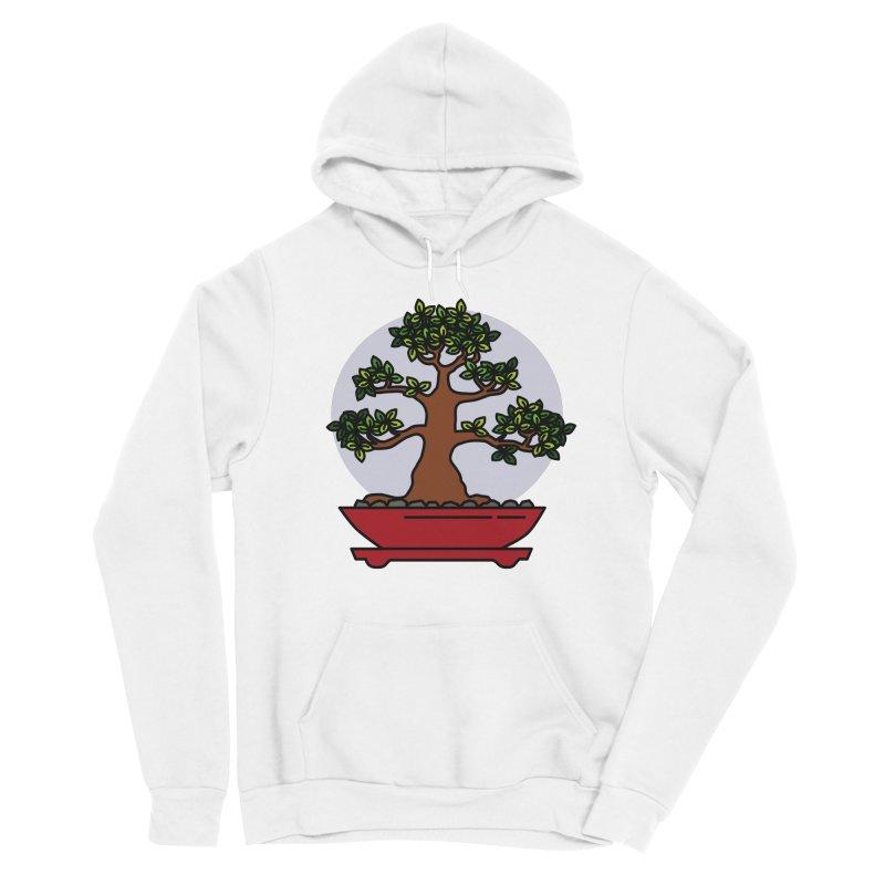 Bonsai Tree - #4 Men's Sponge Fleece Pullover Hoody by LadyBaigStudio's Artist Shop