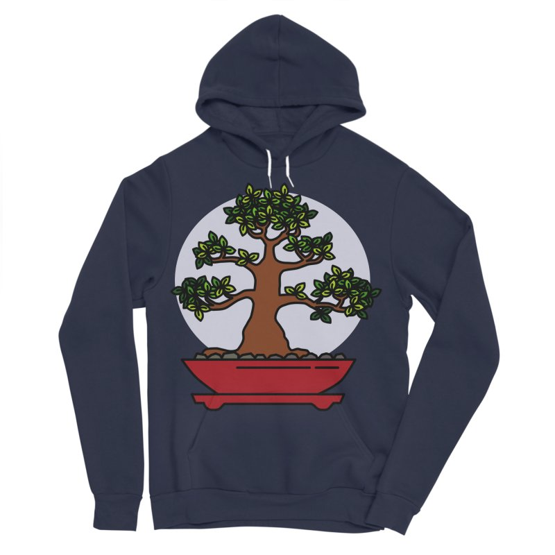Bonsai Tree - #4 Women's Sponge Fleece Pullover Hoody by LadyBaigStudio's Artist Shop