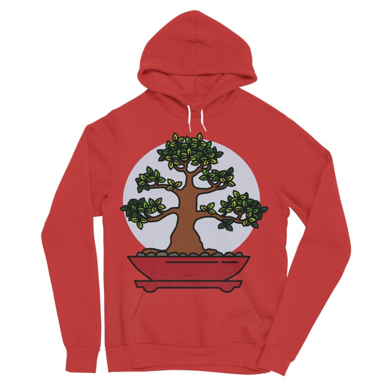 Bonsai Tree - #4 Men's Pullover Hoody by LadyBaigStudio's Artist Shop